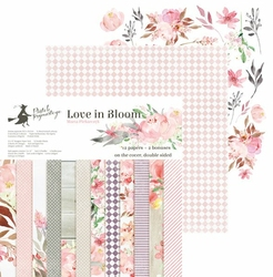 Papier Love in Bloom 30,5x30,5 cm - zestaw
