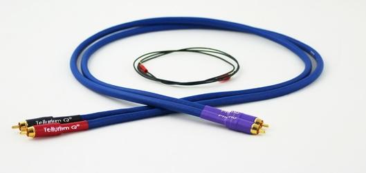 Tellurium Q Phono RCA Blue interkonekt Długość: 1,0 m
