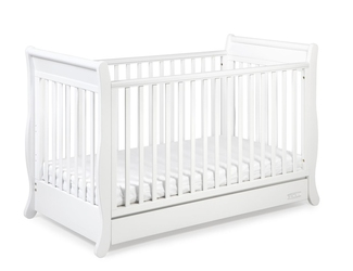 TROLL Romantica łóżeczko dziecięce 140x70 k. biały