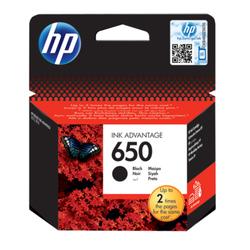 HP 650 oryginalny wkład atramentowy Ink Advantage czarny