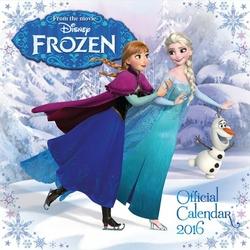 Disney Frozen Anna i Elsa - kalendarz 2016 r.
