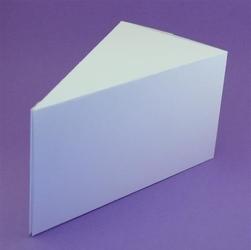 Pudełko na kartkę Cake Box
