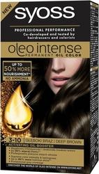 Syoss Oleo, Farba do włosów, 3-10 Głęboki brąz