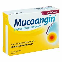 Mucoangin Waldbeere 20 mg Lutschtabletten