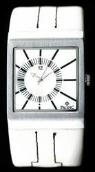 Biały Zegarek meski PACIFIC 2300G - SOLARIS zy014a