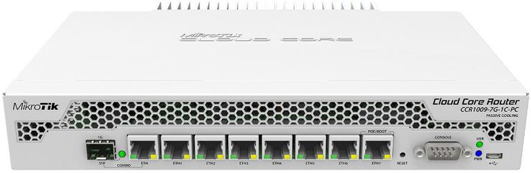MIKROTIK ROUTERBOARD RTB-CCR1009-7G-1C-PC - Szybka dostawa lub możliwość odbioru w 39 miastach