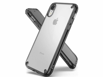 Etui Ringke Fusion do Apple iPhone XR Smoke Black - Czarny