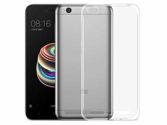 Etui crystal case silikonowe do Xiaomi Redmi 5A przezroczyste