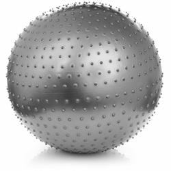 Piłka fitness Meteor 75 cm do masażu + pompka 31105 - 31105