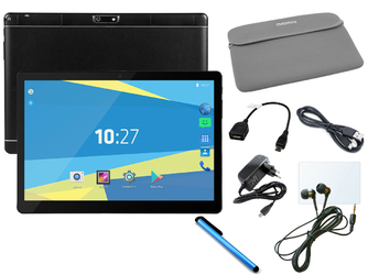 Tablet Overmax QUALCORE 1027 modem 4G GPS + Etui + Rysik + Słuchawki
