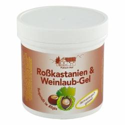Rosskastanien + Weinlaub Gel