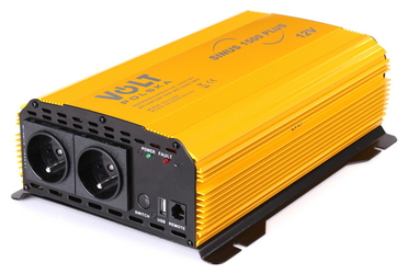 PRZETWORNICA SINUS PLUS 1500 12V  230V 10001500W - Szybka dostawa lub możliwość odbioru w 39 miastach