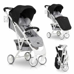 Euro Cart Volt Pro Anthracite Wózek do 22kg + Folia + Ocieplacz + Moskitiera