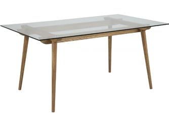 Stół szklany Taxo160x90cm dąb