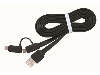 Gembird Kabel USB AM-Micro-BM Lightning Apple 1m