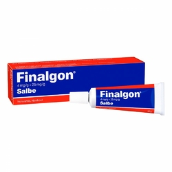 Finalgon 4 mgg + 25 mgg maść lecznicza