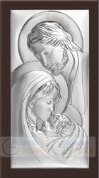 Obrazek BC63803WM Święta Rodzina 12 x 24 cm