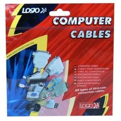 Kabel do dysku twardego S-ata napájecí, DC 5,25quot M- DC SATA 2x M, 0.2m, rozgałęziacz, color, Logo