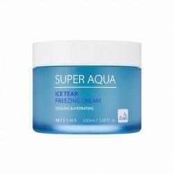 Missha Super Aqua Ice Tear Cream W lekki nawilżający krem do twarzy 50ml