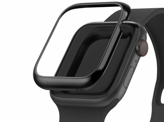 Nakładka Ringke Bezel Styling do Apple Watch 4 44mm Glossy Black - Czarny