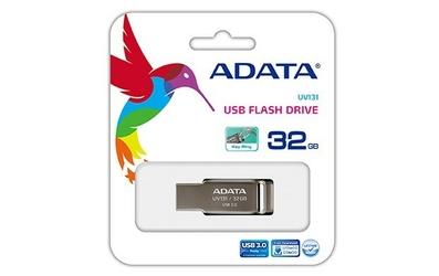 Adata DashDrive UV131 32GB USB3.0 Grey Aluminium