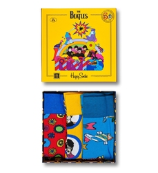 Giftbox 3-pack Happy Socks x The Beatles XBEA08-2000 - XBEA08-2000