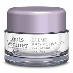 Louis Widmer Pro-Active krem pielęgnacja na noc lekko perfum