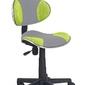 Fotel obrotowy Flash 2 szary zielony
