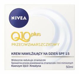 Nivea Q10 Plus, krem przeciwzamarszczkowy na dzień, 50ml