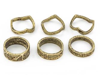 Pierśckonki aztec gold I - gold I