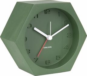 Budzik Hexagon zielony