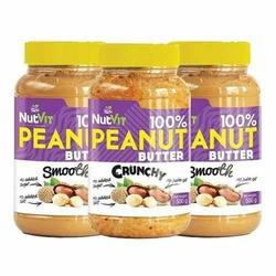 NUTVIT 100 Peanut Butter - 500g x 3