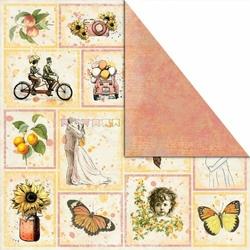 Papier do scrapbookingu Bananarama 30,5x30,5 cm - Pictures of life - 6