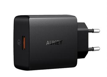 AUKEY PA-T17 ultraszybka ładowarka sieciowa 1xUSB Quick Charge 3.0 3A 18W