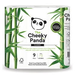 Cheeky Panda, Papier toaletowy, trzywarstwowy, 9 rolek