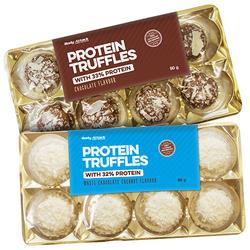 Body Attack Protein Truffles 80 - Strawberry Yoghurt