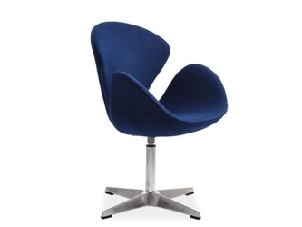 Fotel Devon niebieski