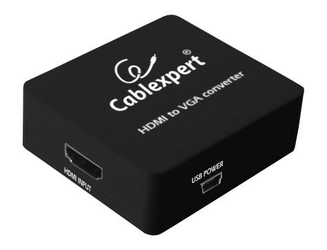 Gembird Adapter HDMI-VGA+Jack 3.5MM Jack 1080p