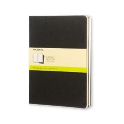 Zeszyty Moleskine Cahier Journals XL 3 szt. gładkie czarne