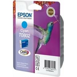 Tusz Oryginalny Epson T0802 C13T08024011 Błękitny - DARMOWA DOSTAWA w 24h