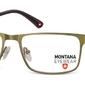 Oprawki prostokątne optyczne montana mm610f zielone