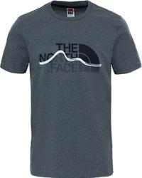 T-shirt męski the north face mountain line t0a3g2jbv