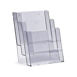 Stojak na biurko 3 x a5 stojak na ulotki 3c160