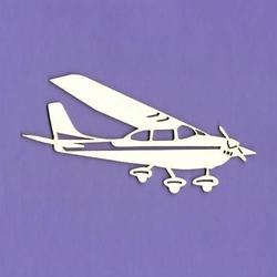 Tekturka samolot 10x4,5 cm