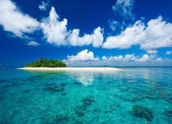 Tropikalna wyspa - fototapeta