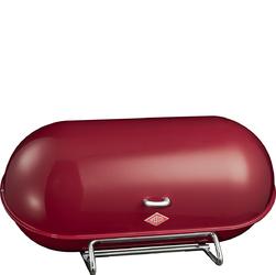 Chlebak duży, bordowy, stalowy Breadboy Wesco 222201-58