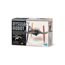 Rysujący robot zestaw kreatywny
