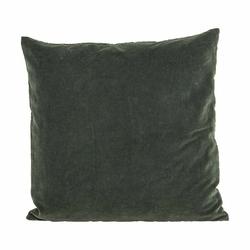 Poszewka na poduszkę Velv 50 x 50 cm ciemnozielony