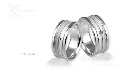 Obrączki srebrne - wzór ag-019