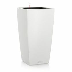 Donica lechuza cubico color - biała - 30 x 30 x 56 cm - biały